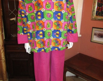 Super Plus Size fleece Pyjamas/ Lounge wear Size UK26/30