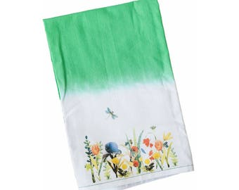 Flour Sack Towel | Ralph Moberly Floral | Fun Towel | Gifts under 10|