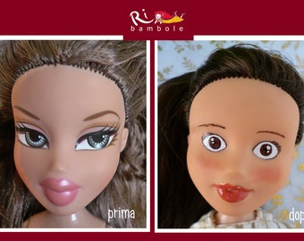 Dolls, Rb21, hand-painted doll, repaint doll, Ooak doll, Ooak doll repaint, Bratz repaint