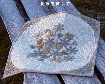 YOKO SAITO's Lovely Scandinavian Quilts - Japanese Craft Pattern Book Japanese Sewing patterns Book Cloth bags