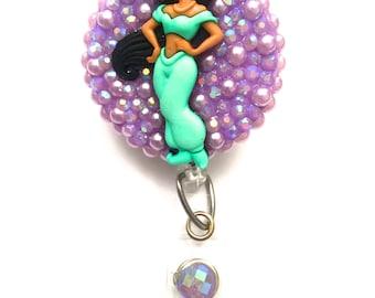 Retractable Badge Reel - Jasmine