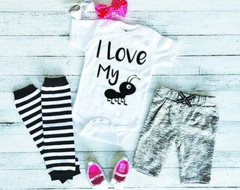 Funny Baby Onesie - Cute Baby Onesie - Baby Shower Gift - New Baby Gift - Baby Onesie With Sayings - Aunt Baby Onesie