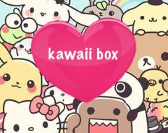 Small kawaii surprise box