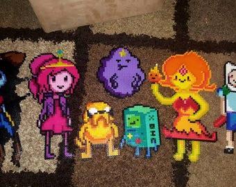 Perler Bead Art - Adventure Time !