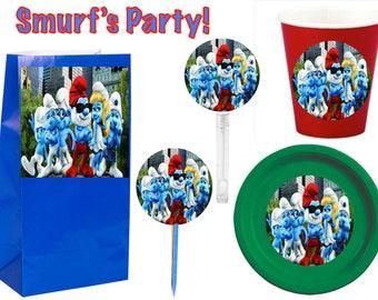 Smurf's Party 12pcs.