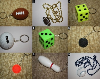 Sport & Game Accessories - Golf, Football, Baseball, Soccer, Basketball, Dominoes, Dice, Bowling, Checkers, Casino and more!