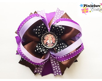 Monster High Clawdeen Wolf Stacked Hair Bow