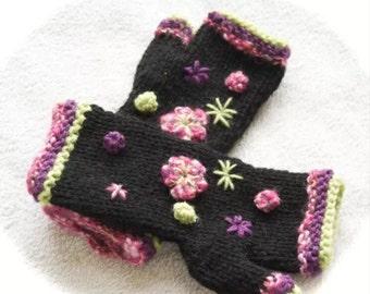 PDF mitten knitting pattern