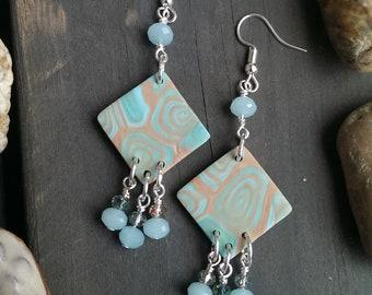 Hazy Rose -earrings