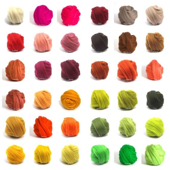 "New Colors! Giant Chunky Yarn, Super- THICK Yarn, ""Smoosh Yarn"" ™ For Chunky Blankets, Extreme Hand Spun yarn"