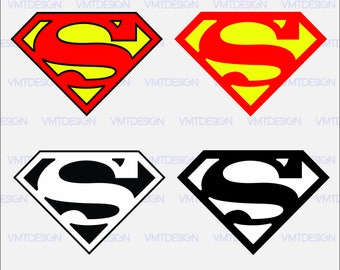 Superman logo svg - Superman clipart - Superman logo digital clipart for Design or more, files download svg, png, pdf, eps, jpg