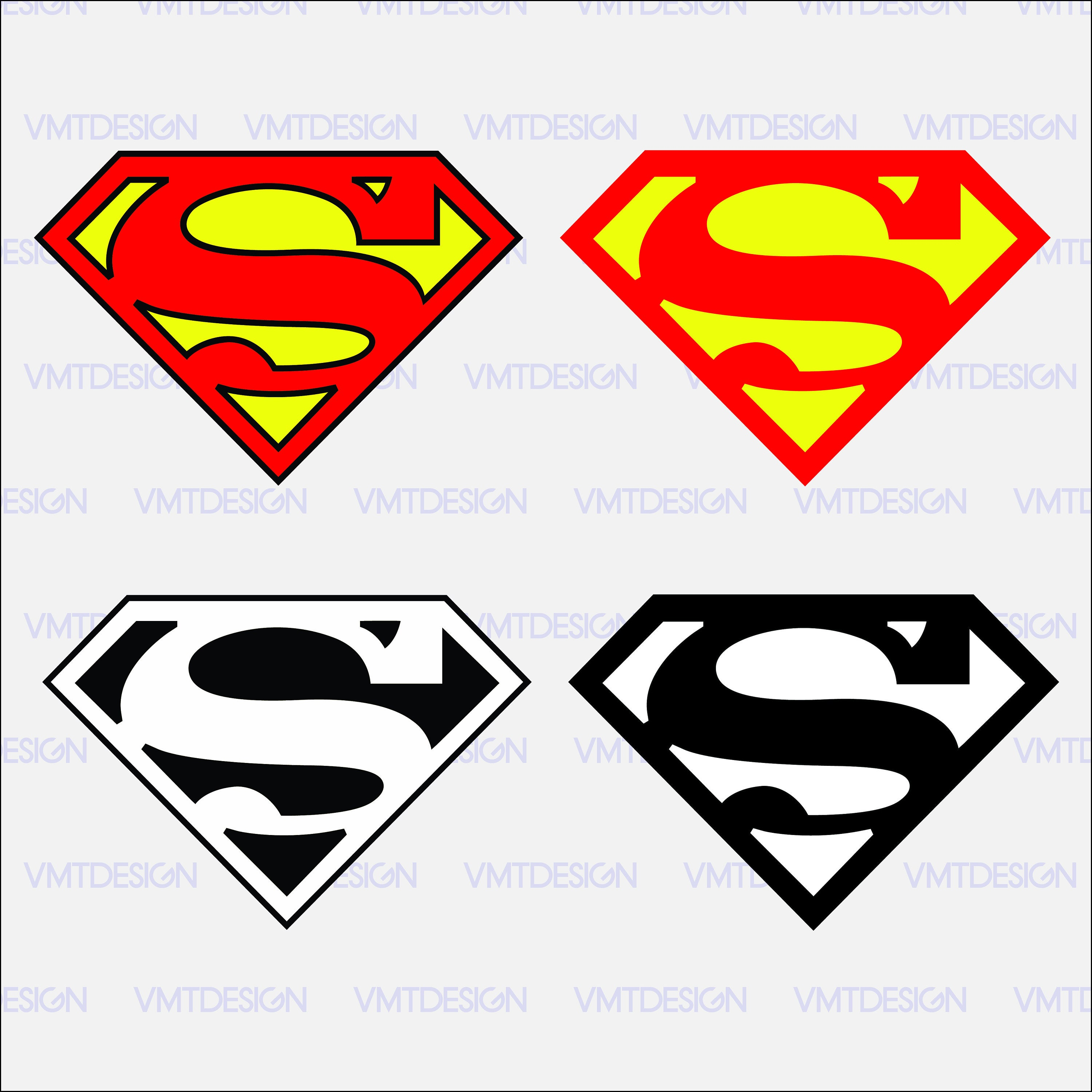 Superman logo svg Superman clipart Superman logo digital