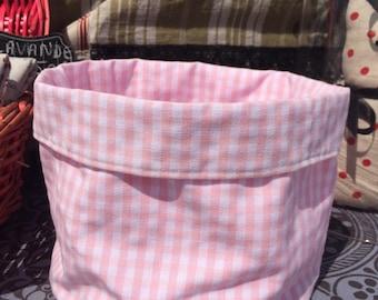 Fabric baskets, storage accessories, bathroom or bedroom or