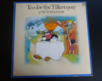 Cat Stevens Tea For Tillerman Vinyl Record LP SP 4280 A&M Records 1970