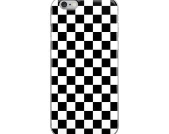 Checker iPhone Case, iPhone 7 Plus Case, iPhone 8 Plus Case, iPhone X Case, iPhone 7 Case, iPhone 8 Case, iPhone 6 case, iPhone 6s Case