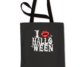 I Fang Halloween Shopping Tote Bag