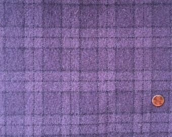 Grape Juice - Mill Dyed Textured Wool 1/4 yard