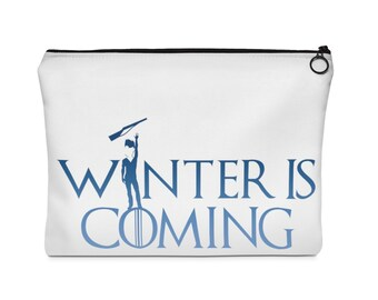 Winter Guard Is Coming Boy Rifle  Carry All Pouch  - Two Sizes, colorguard, winterguard, color guard