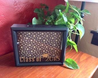 Graduation Card Box - Graduation Box, Graduation Party Decoration, High School Graduation, College Graduation, Graduation Party Ideas