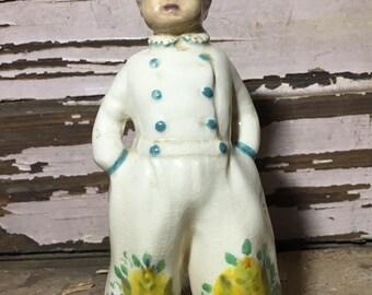 Vintage Porcelain Dutch Girl Figurine 118-11