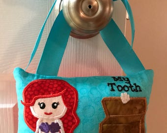 Ariel Toothfairy Pillow