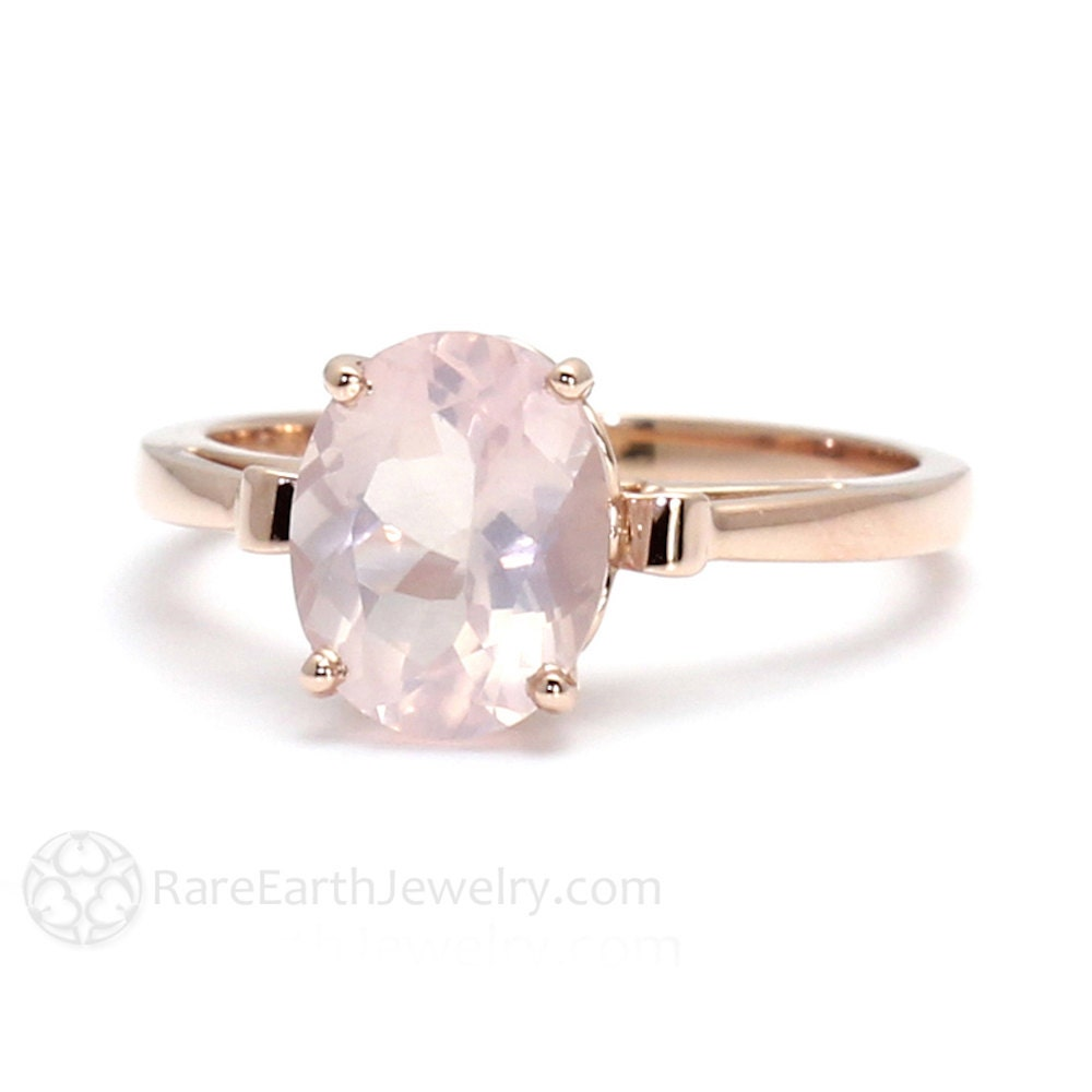 engagement rose gold wedding ring morganite trend and style pink bridal rings ideas on quartz hued
