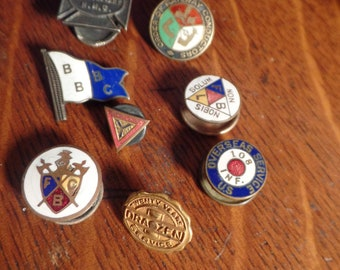 Group of Frat, Organization, Work Place Pins