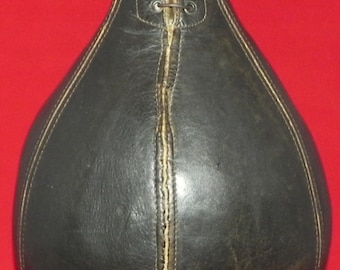 Circa 1920's Stall and Dean Brand Boxing Punching Bag
