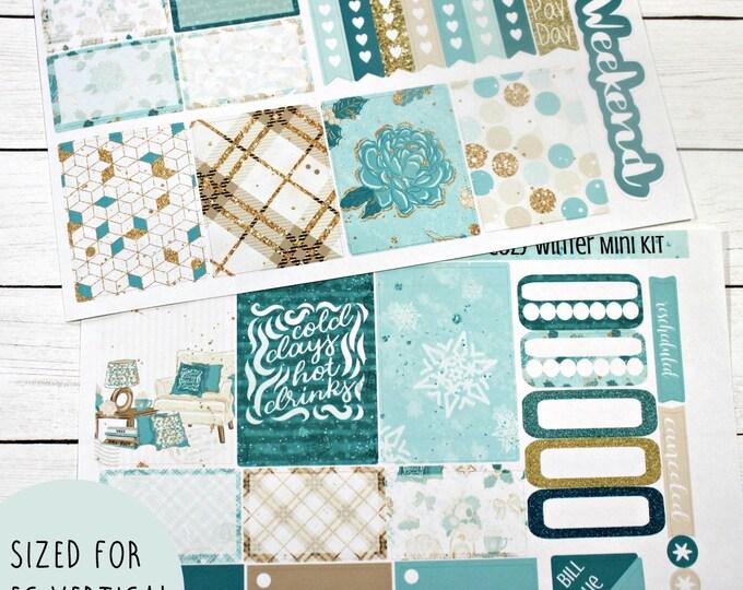 Planner Stickers - Weekly Planner stickers - Erin Condren Life Planner - Happy Planner - Day Designer- Cozy Winter Stickers - Winter sticker
