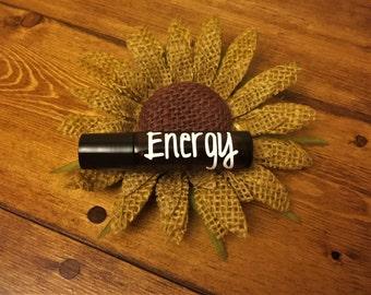 Energy Essential Oil Roller--10 mL