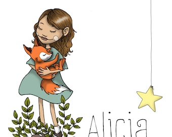 Love to gift - personalized child Portrait