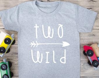 Two Wild Shirt, Two Birthday Shirt, Boy Birthday Shirt, Second Birthday Shirt, Two Birthday Outfit, Cake Smash, 2nd Birthday Shirt,