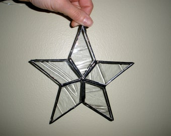 Star Ornament. Suncatcher. Christmas. Garden Decor. Window Decoration. Wish.