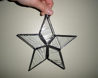 Star Ornament. Suncatcher. Christmas. Garden Decor. Window Decoration. Wish.