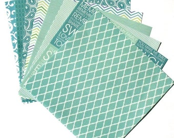 Seaglass Blue - 6x6 Recollections Home Basics Paper Pack