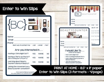 form beauty giveaway norwex inspired enter to win door prize drawing slip 7192