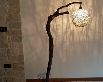 Rustic Lamp from ground floor
