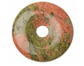 Pendant - 30mm UNAKITE Donut