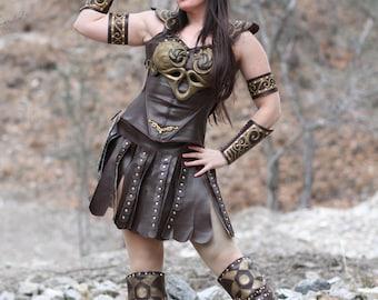 Xena Warrior Princess Costume Replica Harley Quinn&#3...