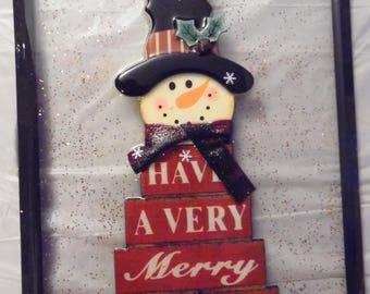 Have a Merry Christmas Snowman