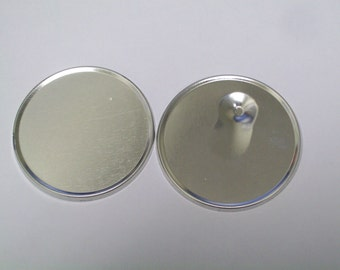 "2.25"" STD Tecre  Magnetic Back Parts -Backs ONLY 2-1/4 Inch - 500 PCS"