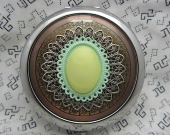 Compact Mirror Scrumptious Comes With Protective Pouch Bridesmaid Gift