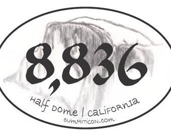 Half Dome 8836