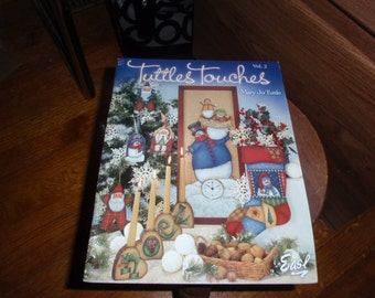 Tuttles Touches Vol 2 by Mary Jo Tuttle Painting Pattern & Instructions Book