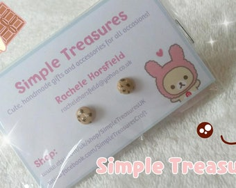 Cookie Stud Earrings