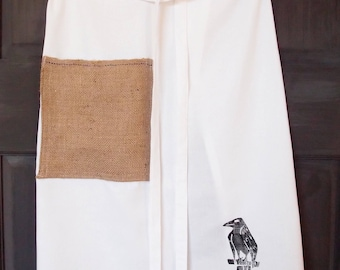 Waiters Apron- Original Block Print