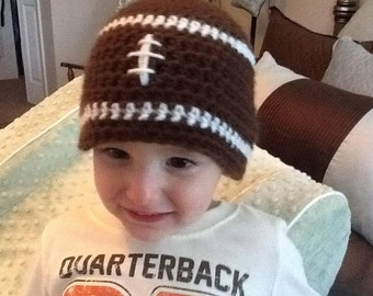 Toddler Boy Football Hat