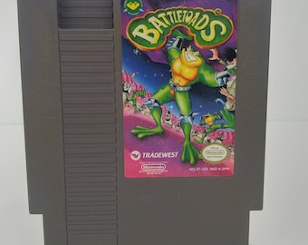 Nintendo NES Battletoads Tested and Cleaned