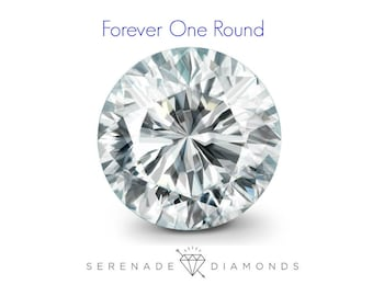Forever One Loose Moissanite by  Charles and Colvard