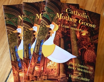 Sale! 3 Delightful Catholic Mother Goose Poetry Books! Lighthearted Poems to Inspire Your Children!